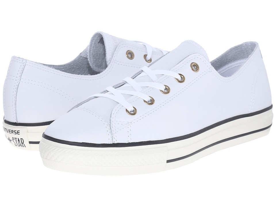 Converse - Chuck Taylor All Star High Line Ox (White/Egret/White) Women's Classic Shoes