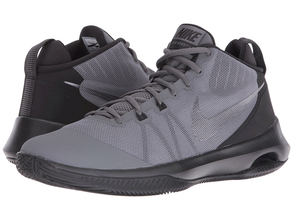 Nike - Air Versatile Nubuck (Anthracite/Metallic Dark Grey/Dark Grey) Men's Basketball Shoes