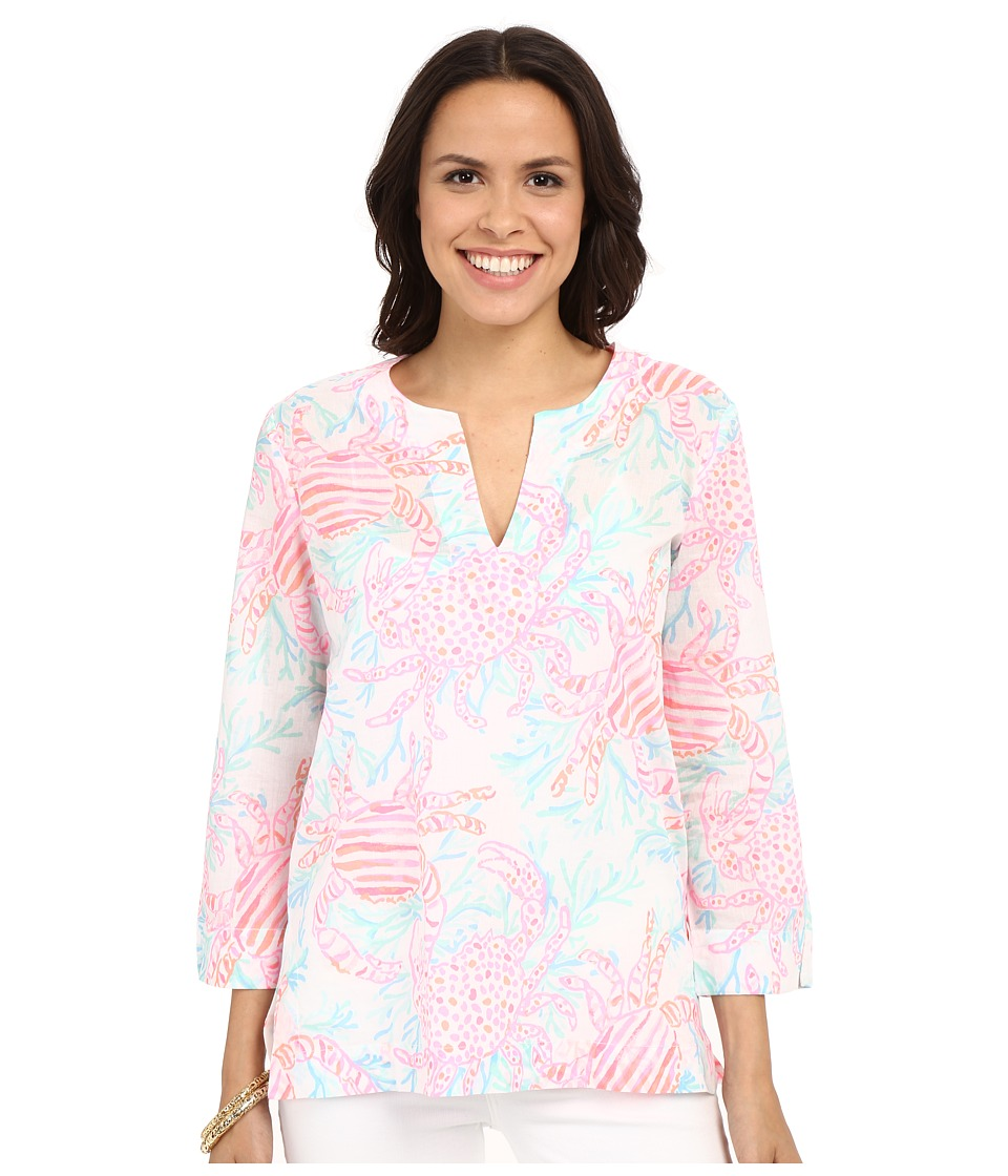Lilly Pulitzer - Amelia Island Tunic (Resort White Getting Steamy) Women's Blouse