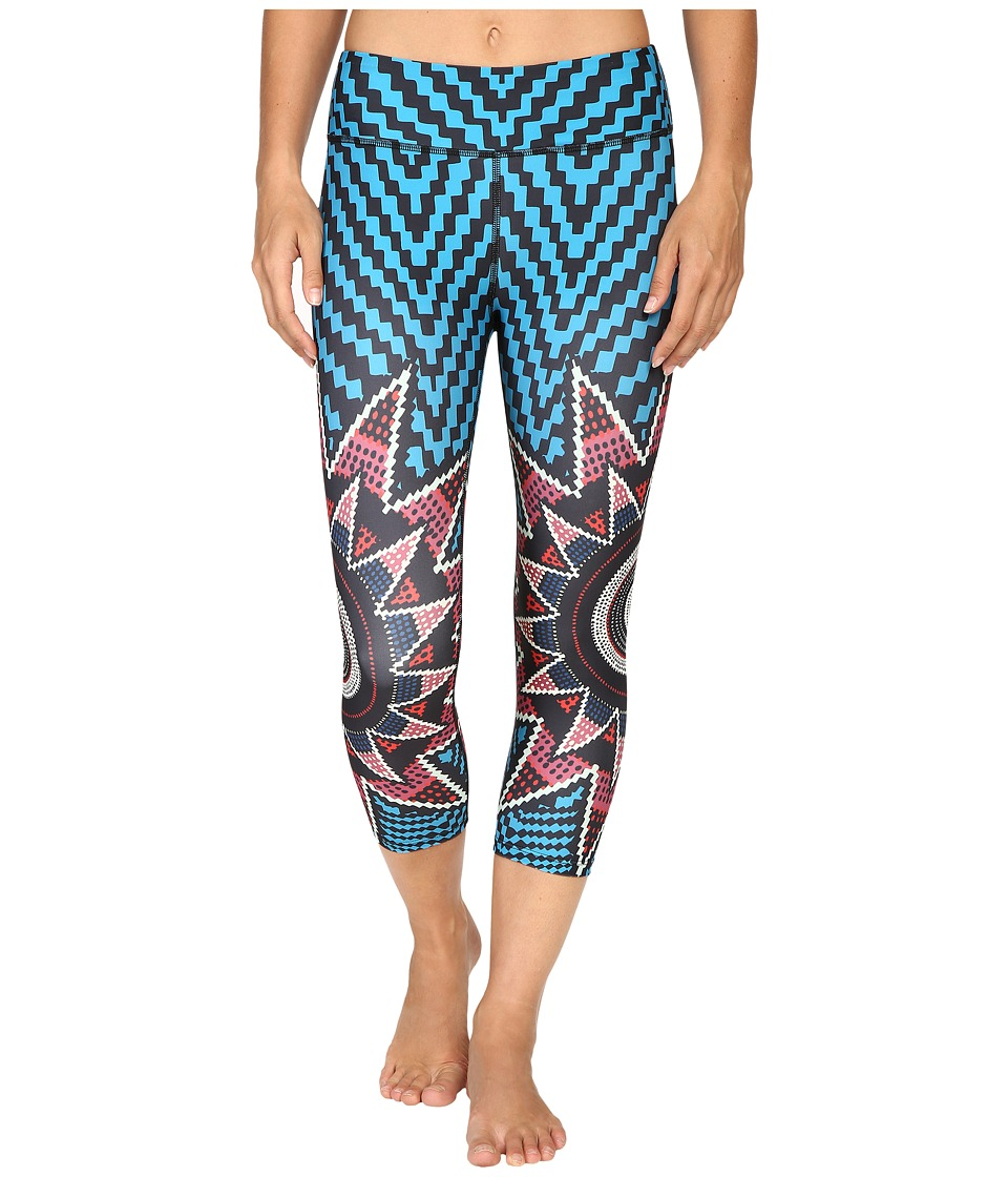 Mara Hoffman - Starbasket Cropped Leggings (Teal Multi) Women's Casual Pants