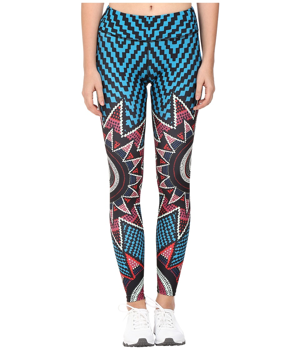 Mara Hoffman - Starbasket Long Leggings (Teal Multi) Women's Casual Pants