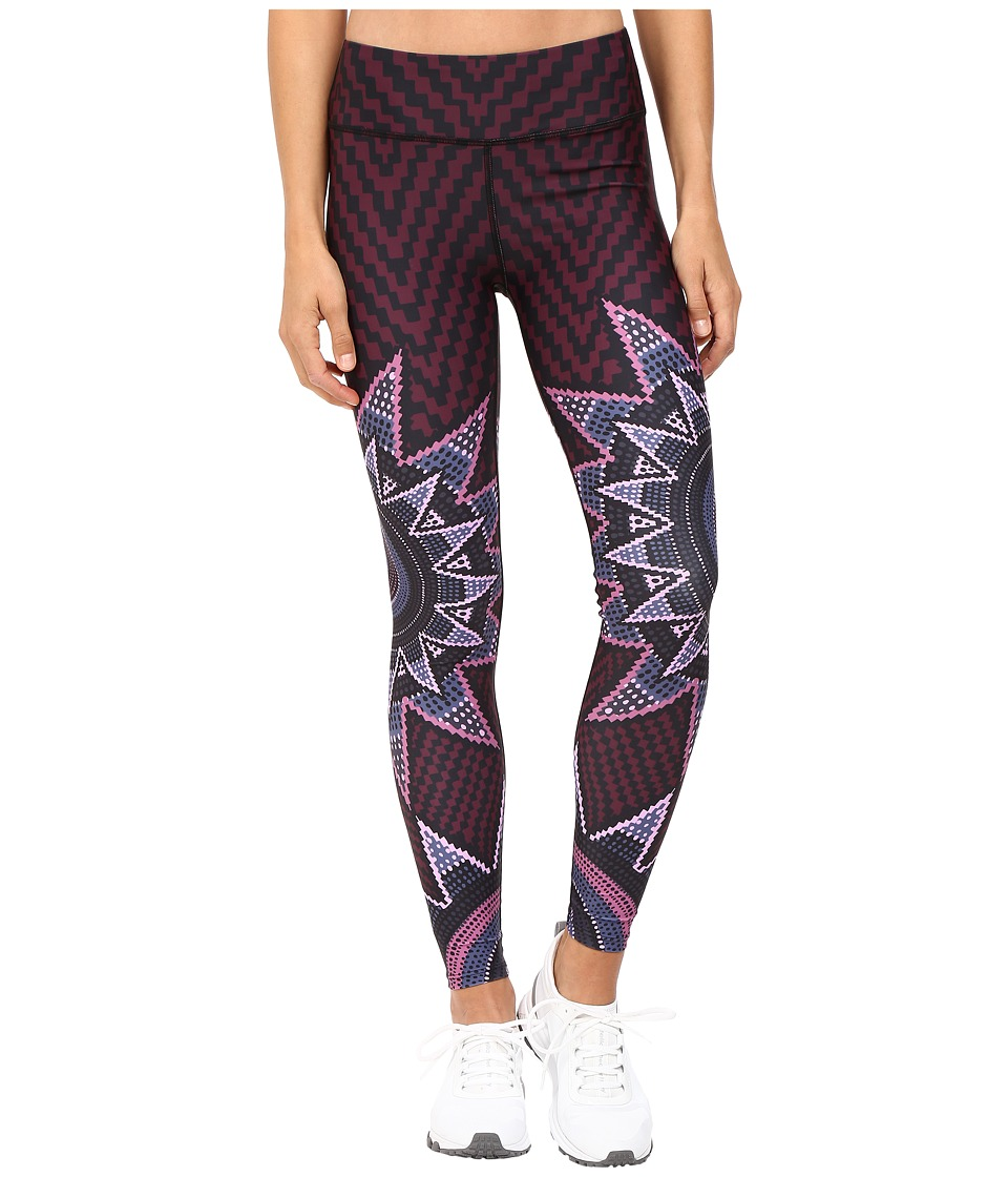 Mara Hoffman - Starbasket Long Leggings (Burgundy) Women's Casual Pants