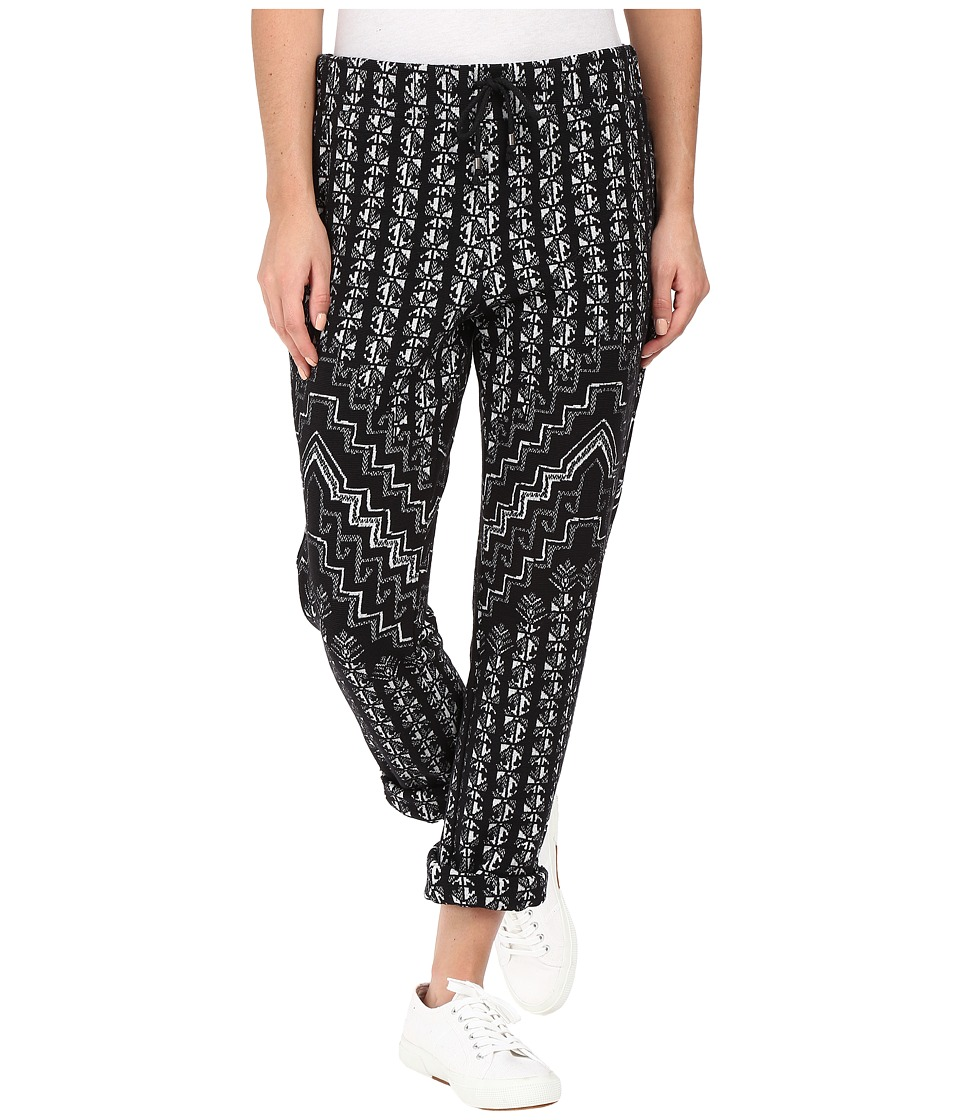 Mara Hoffman - Rugs Jacquard Sweatpants (Black/Cream) Women's Casual Pants