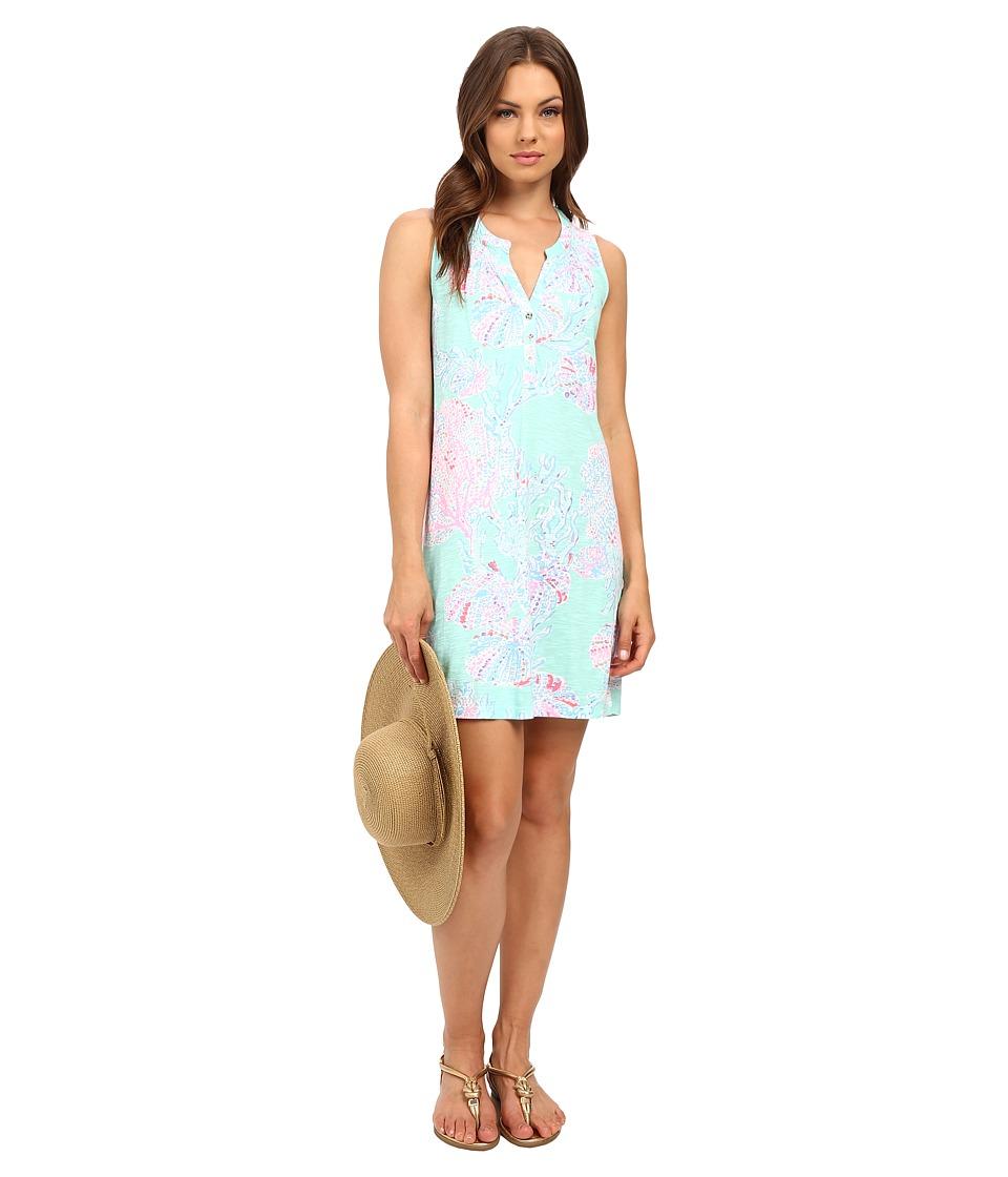 Lilly Pulitzer - Essie Dress (Minty Fresh Fansea) Women's Dress