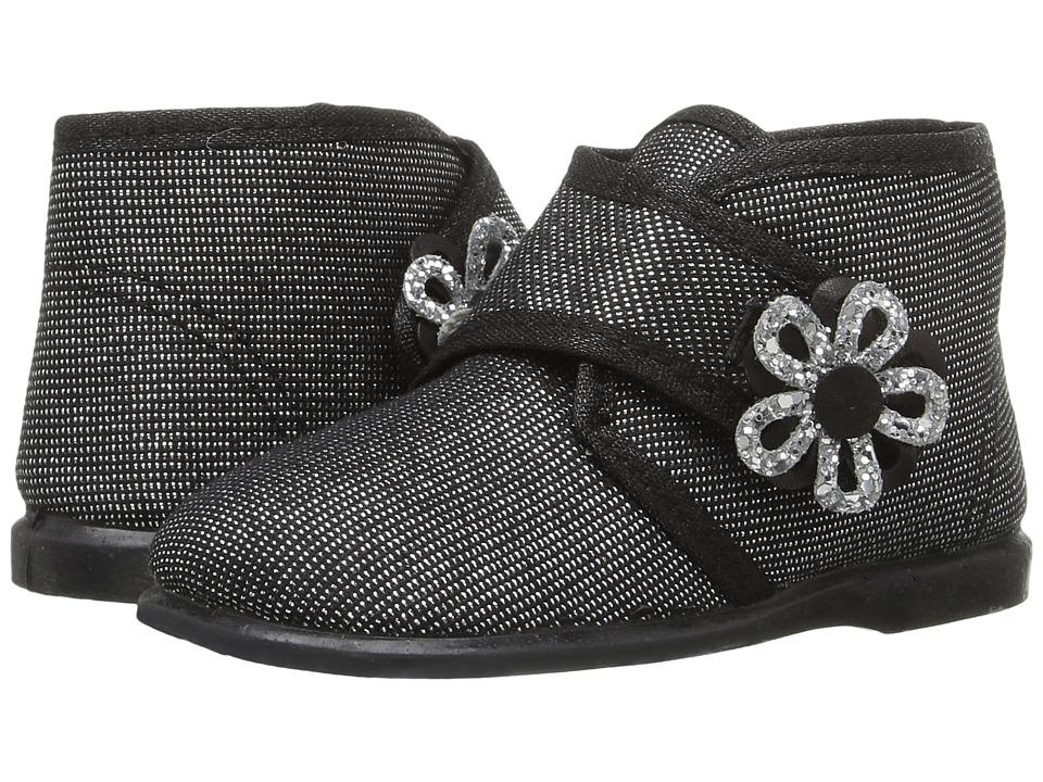 Cienta Kids Shoes - 108011 (Infant/Toddler/Little Kid) (Black) Girl's Shoes