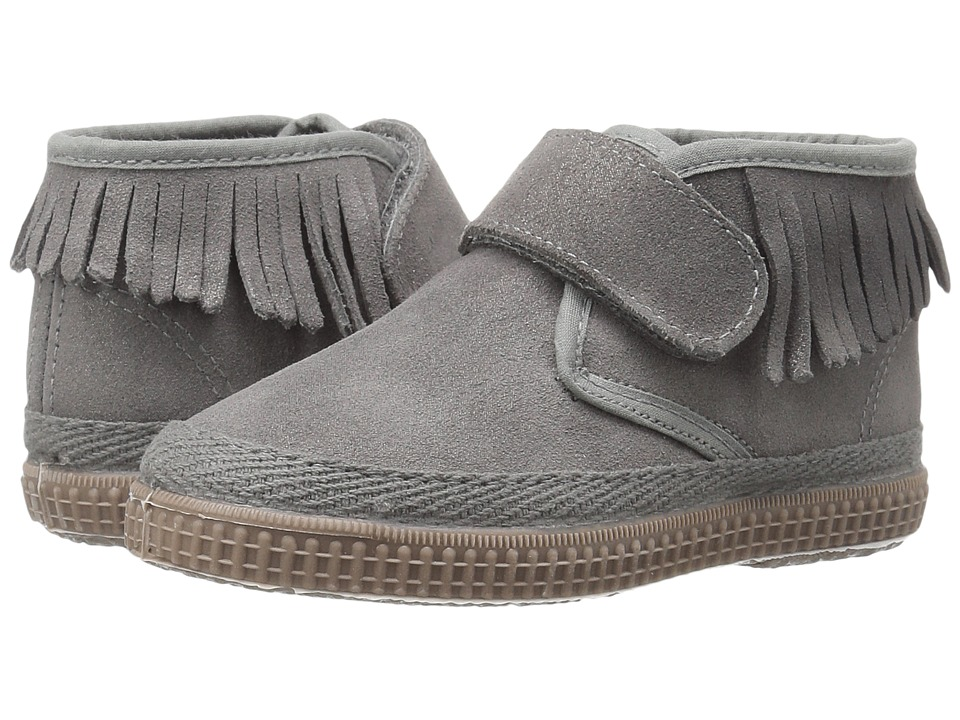 Cienta Kids Shoes - 977025 (Toddler/Little Kid) (Gray) Girl's Shoes