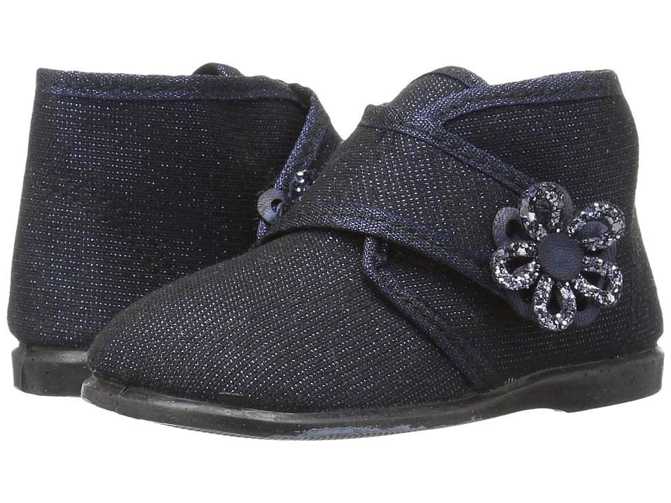 Cienta Kids Shoes - 108011 (Infant/Toddler/Little Kid) (Navy) Girl's Shoes