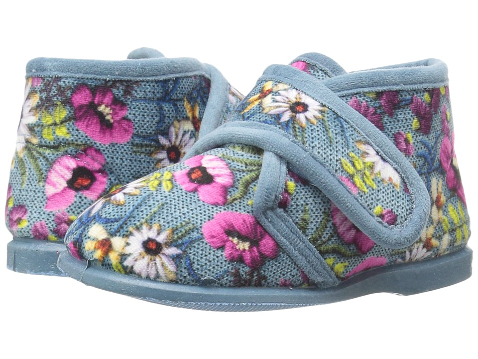 Cienta Kids Shoes - 108006 (Infant/Toddler/Little Kid) (Washed Denim) Girl's Shoes