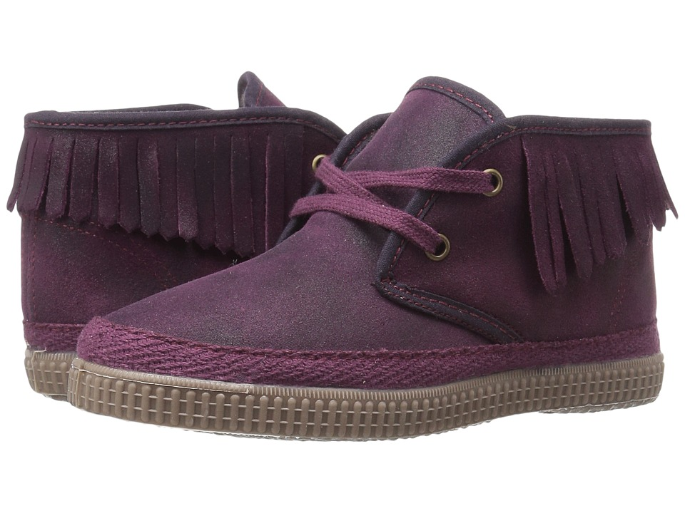 Cienta Kids Shoes - 971025 (Toddler/Little Kid) (Maroon) Girl's Shoes
