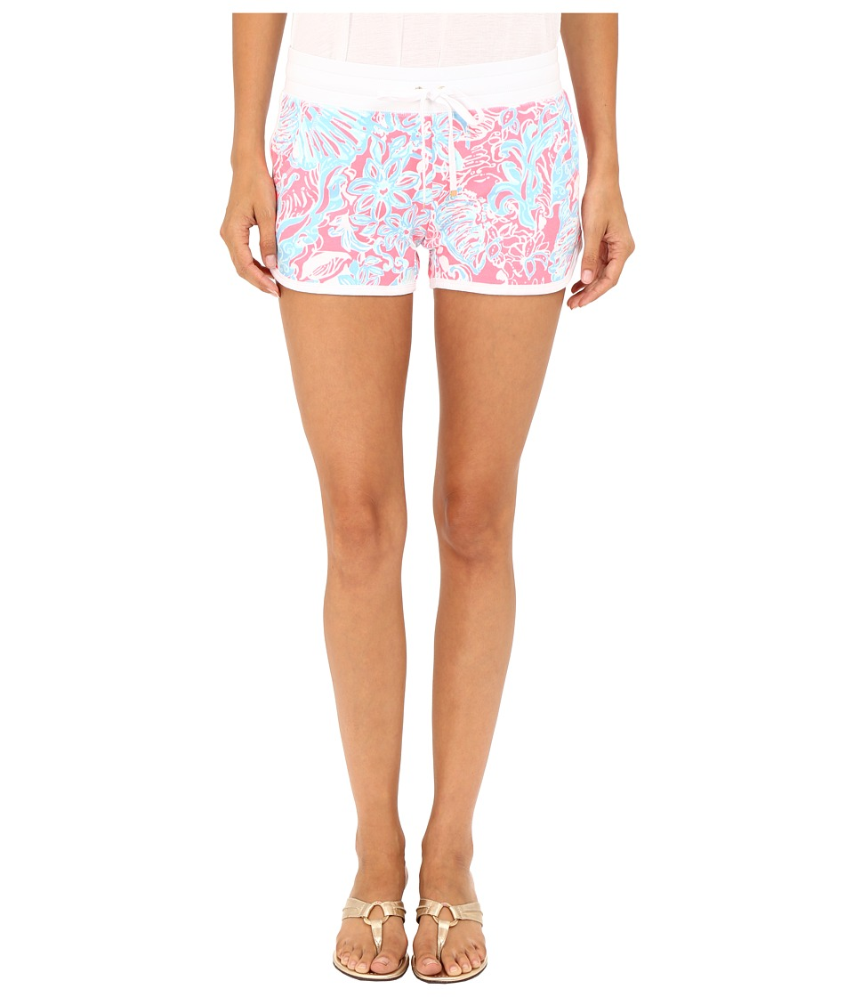 Lilly Pulitzer - Chrissy Shorts (Pink Sun Ray Summer Siren) Women's Shorts