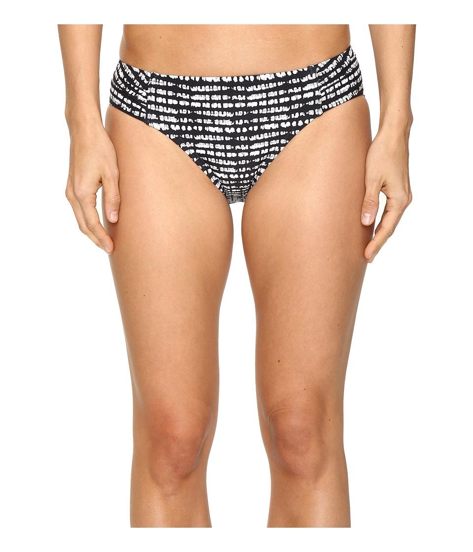 Lole - Caribbean Bottom (Black Stripe) Women's Swimwear