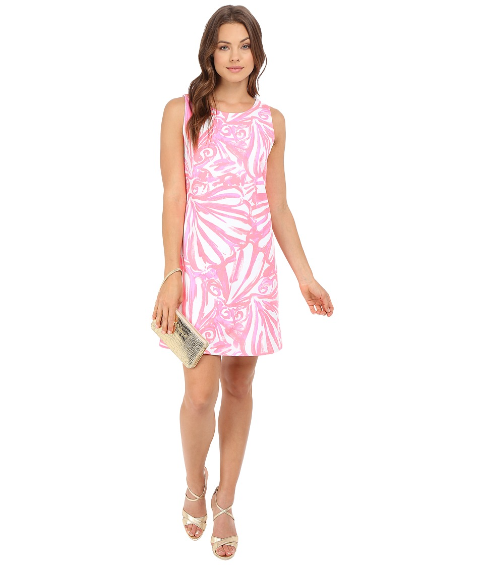 Lilly Pulitzer - Callie Shift Dress (Pink Sun Ray Shimmy Shimmy) Women's Dress