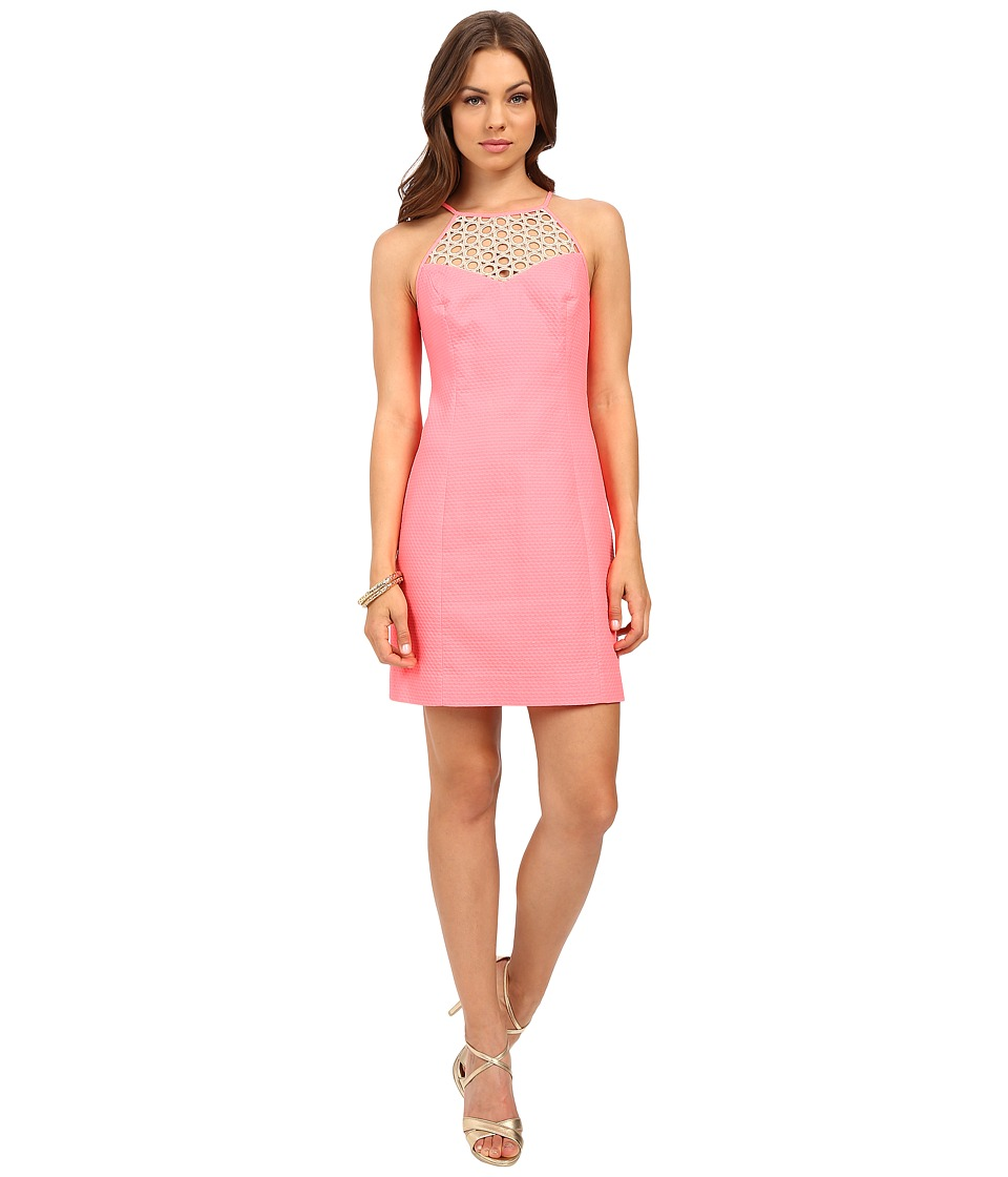 Lilly Pulitzer - Larina Shift Dress (Pink Sun Ray) Women's Dress