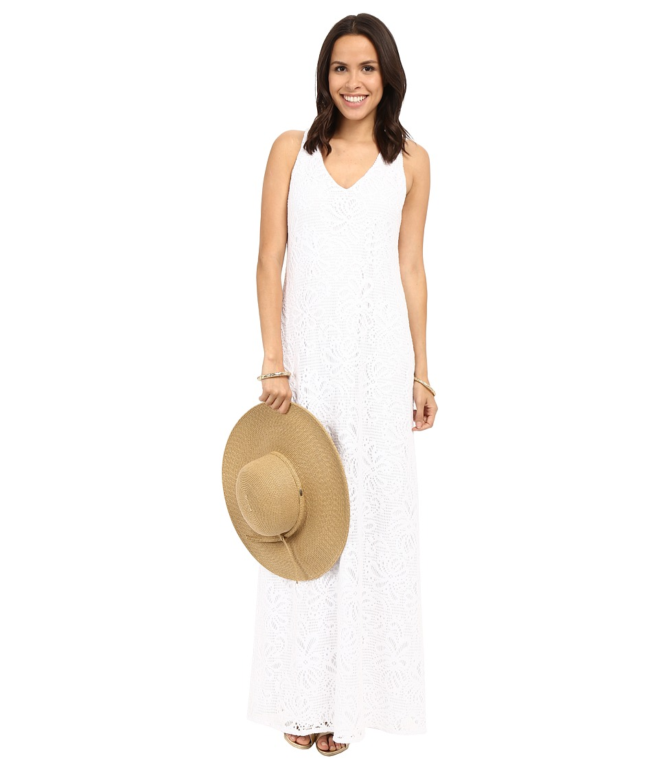 Lilly Pulitzer - Aster Maxi Dress (Resort White Whirlpool Knit) Women's Dress