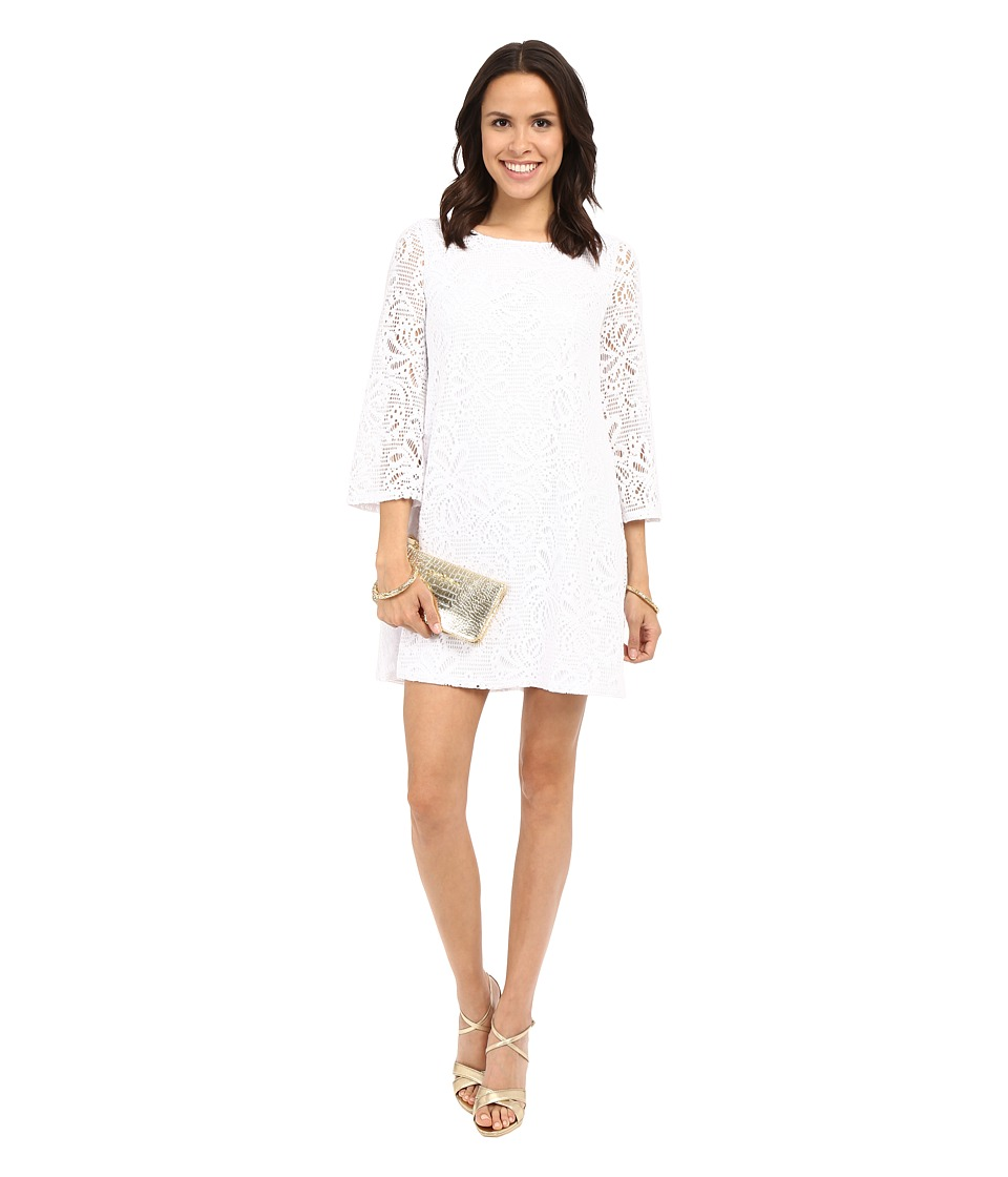 Lilly Pulitzer - Foley Dress (Resort White Whirlpool Knit) Women's Dress