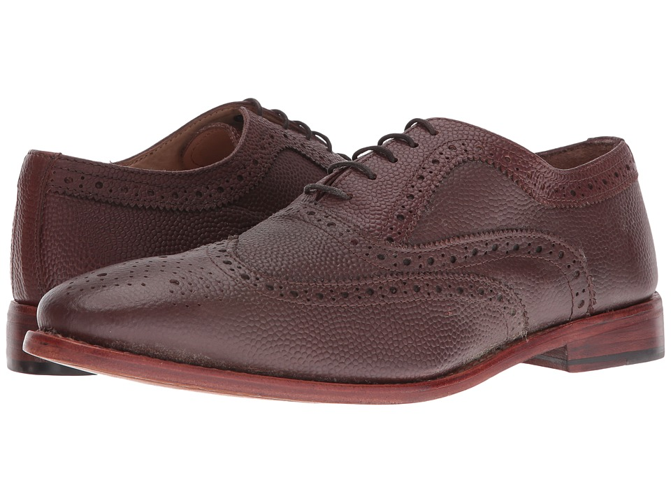 Lotus - Harry (Oxblood Leather) Men's Lace Up Wing Tip Shoes