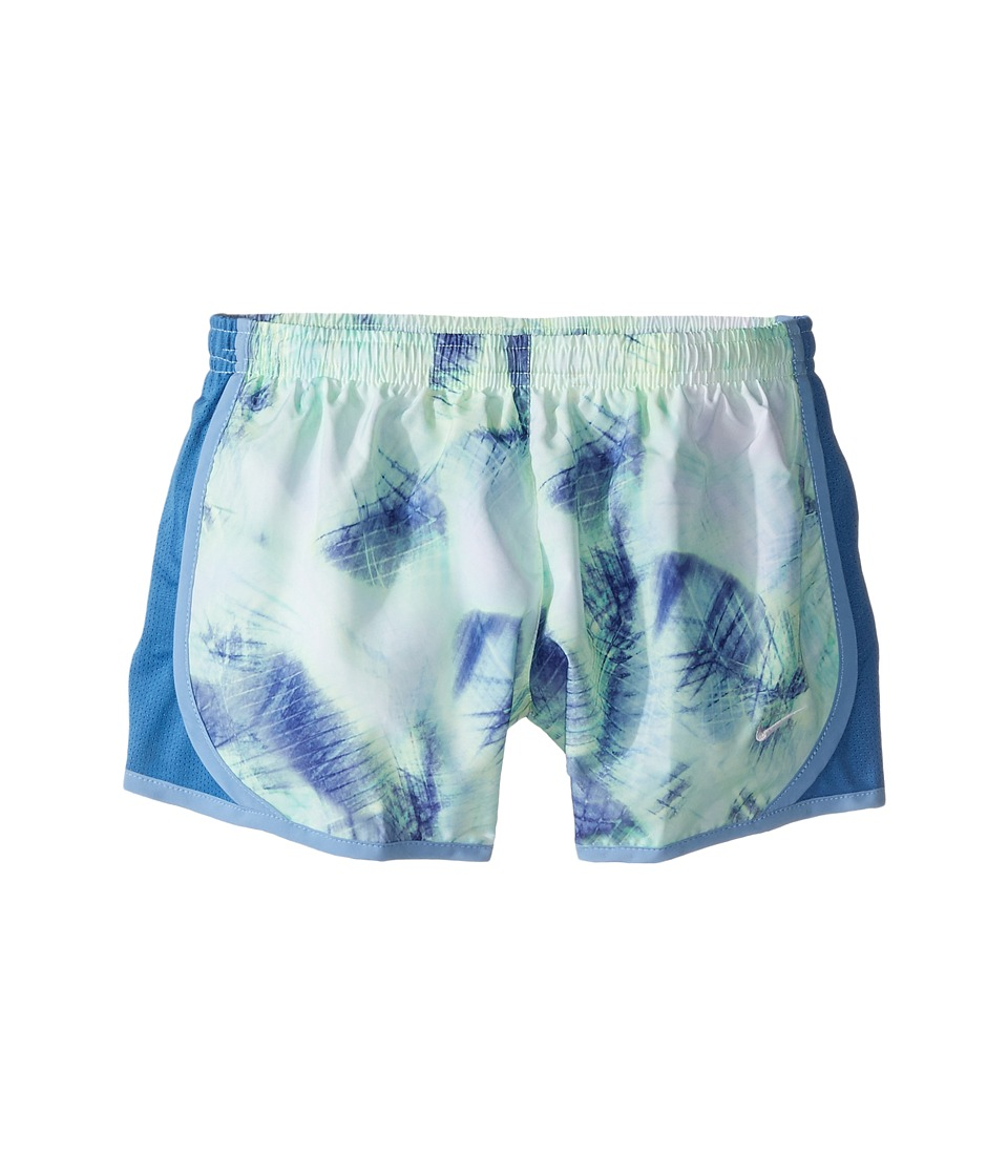 Nike Kids - Dry Tempo Running Short AOP1 (Little Kids/Big Kids) (Light Blue/Star Blue/Light Blue/White) Girl's Shorts