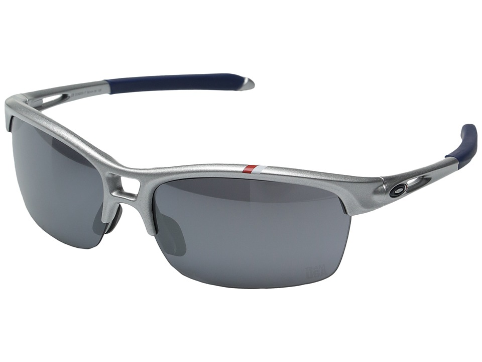 Oakley - Team USA RPM Squared (Silver White w/ Black Iridium) Fashion Sunglasses