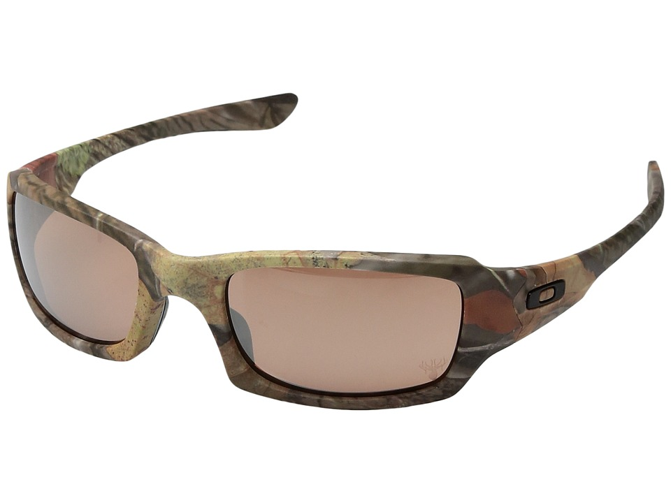 Oakley - Turbine (Woodland Camo w/ VR28 Black Iridium) Sport Sunglasses