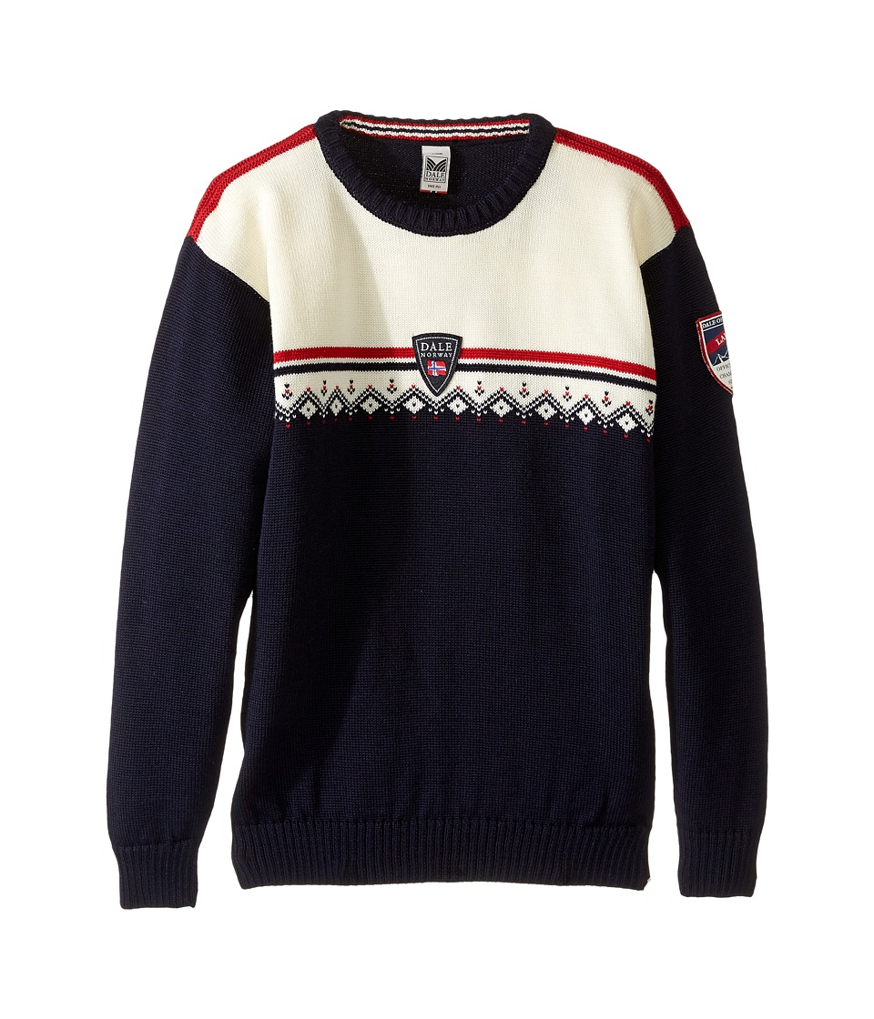 Dale of Norway - Lahti Sweater (Toddler/Little Kids/Big Kids) (Navy) Sweater