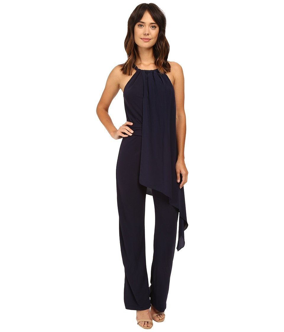 Trina Turk - Grand Jumpsuit (Indigo) Women's Jumpsuit & Rompers One Piece