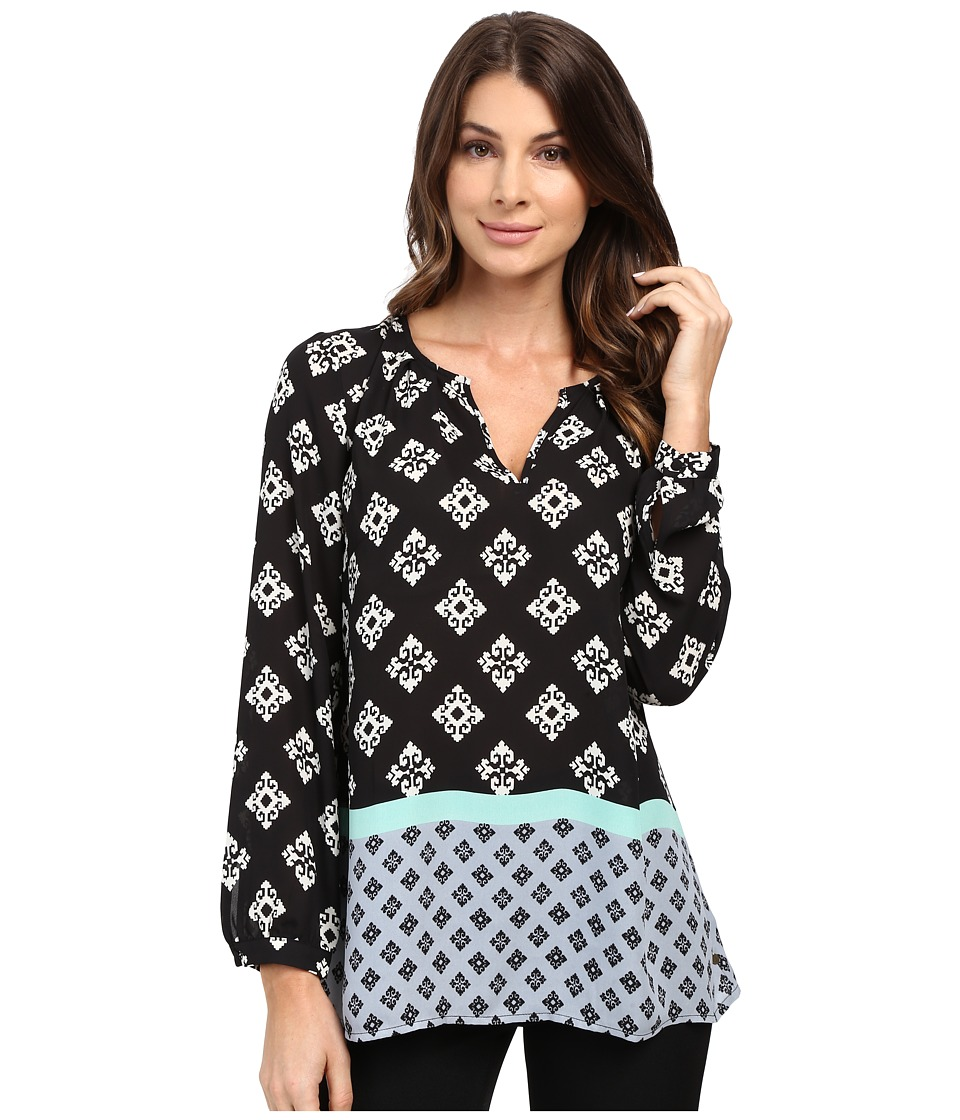 Hatley - Pleated Neckline Blouse (Aztec) Women's Blouse