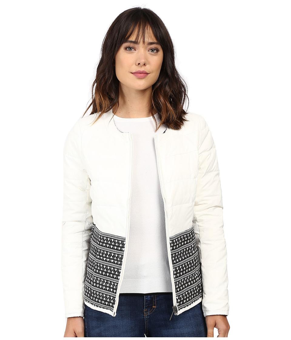 Hatley - Down Fill Reversible Jacket (Cream) Women's Coat