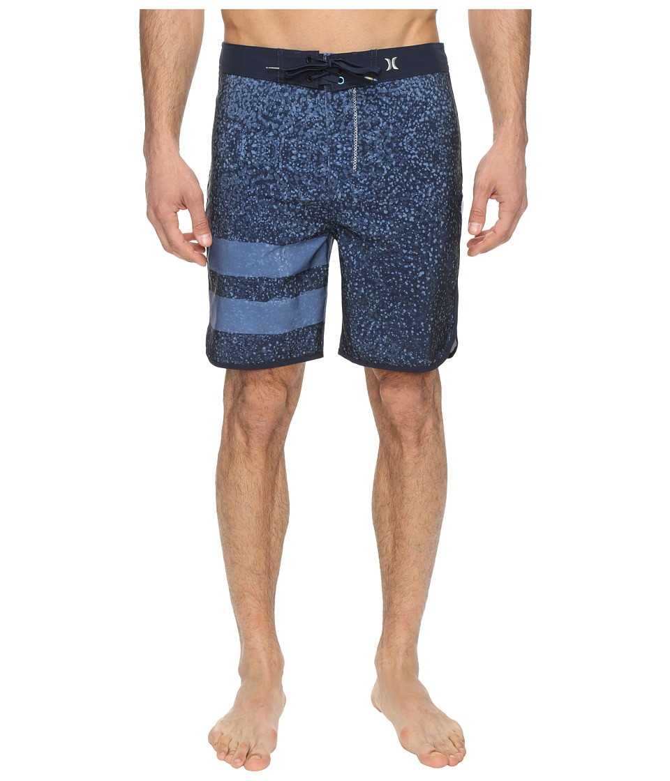Hurley Phantom Block Party Carve 19 Boardshorts (Obsidian) Men