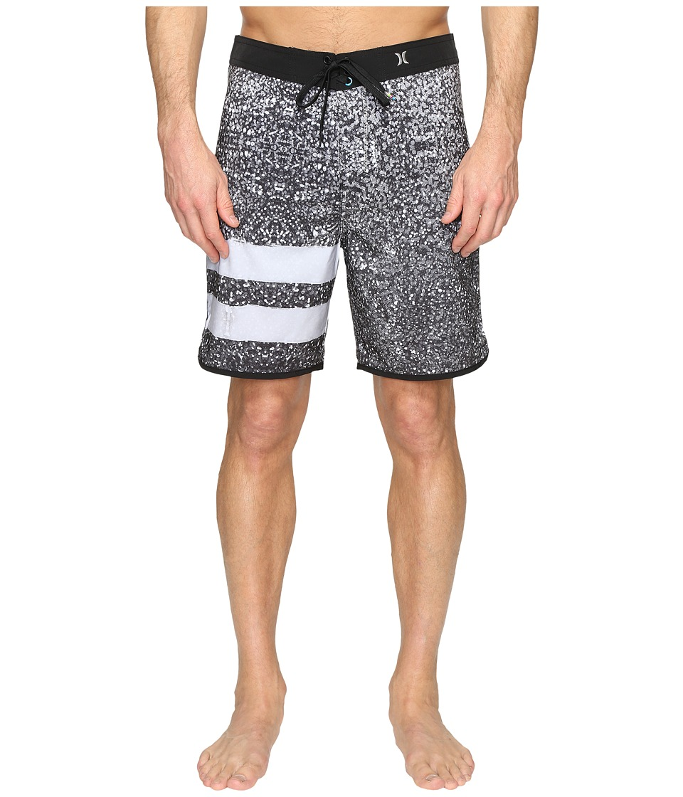 Hurley Phantom Block Party Carve 19 Boardshorts (Black) Men