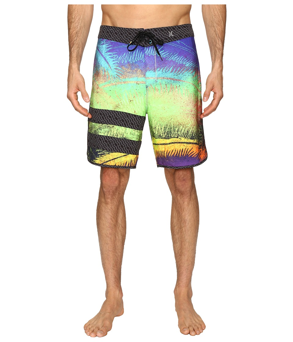 Hurley - Phantom Block Party Niuolahiki 19 Boardshorts (Multi) Men's Swimwear