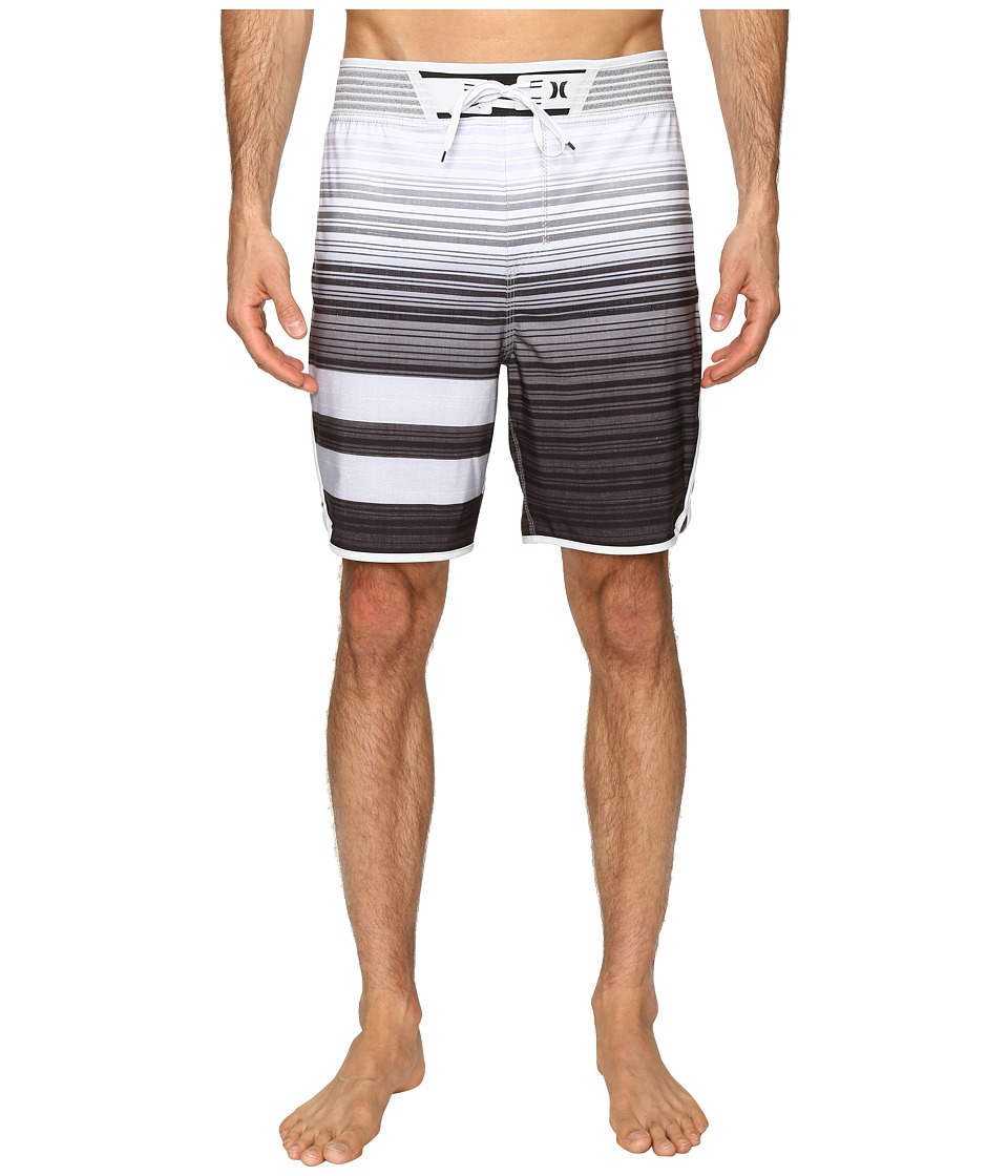 Hurley - Phantom Hyperweave Block Party Code 18 Boardshorts (Black) Men's Swimwear