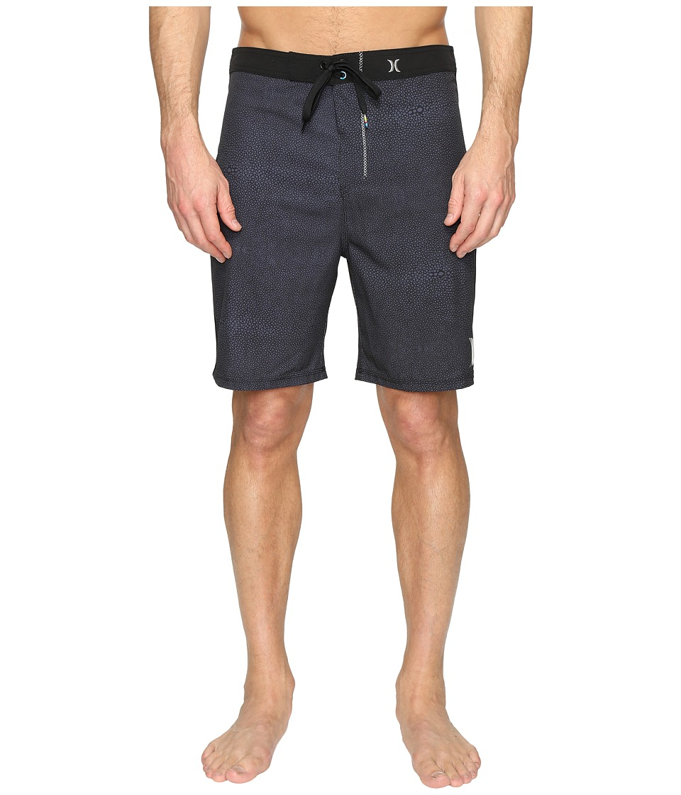 Hurley - Phantom Stingray 21 Boardshorts (Black) Men's Swimwear