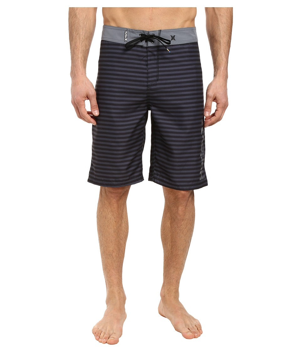 Hurley - Waldorf 19 Boardshorts (Black) Men's Swimwear