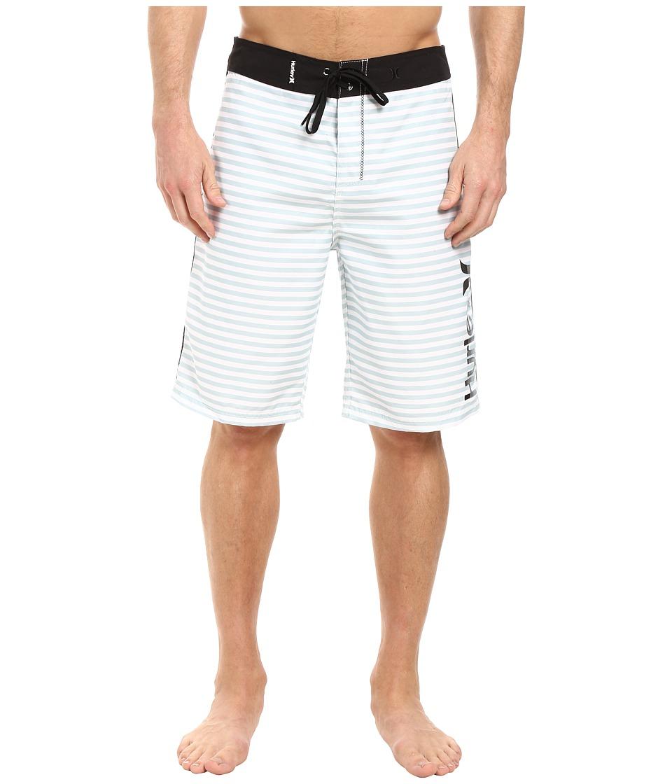 Hurley - Waldorf 19 Boardshorts (White) Men's Swimwear