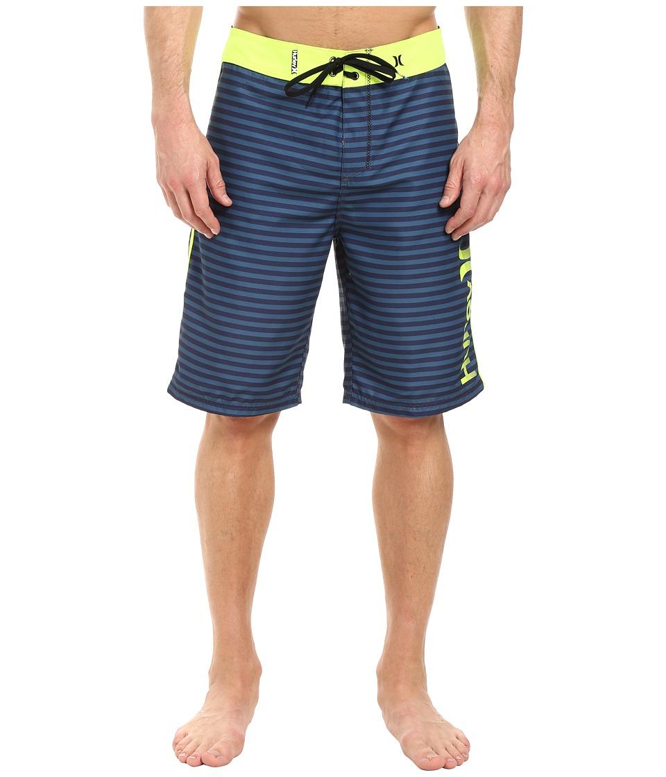 Hurley - Waldorf 19 Boardshorts (Obsidian) Men's Swimwear