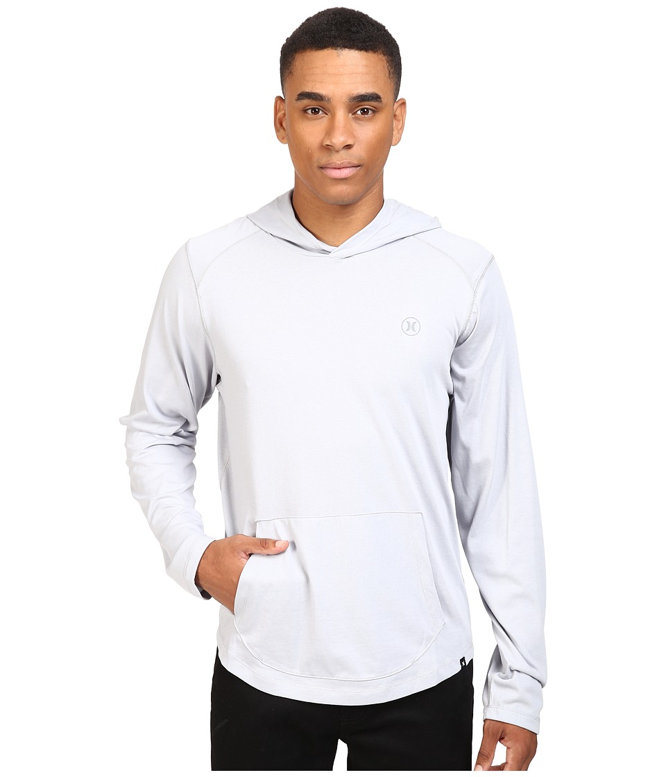 Hurley - Dri-Fit Lagos Hoodie (Wolf Grey) Men's Sweatshirt