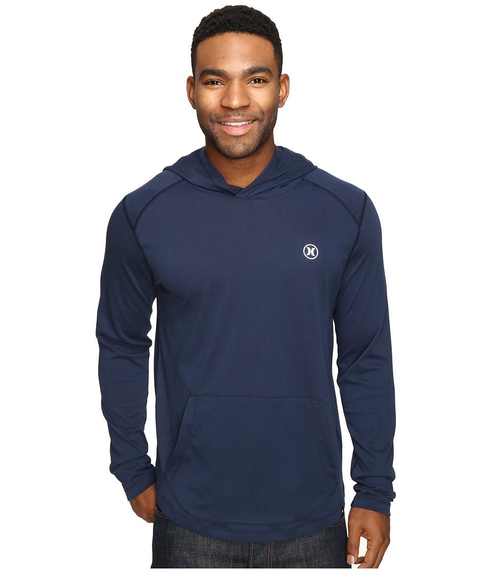 Hurley - Dri-Fit Lagos Hoodie (Obsidian) Men's Sweatshirt