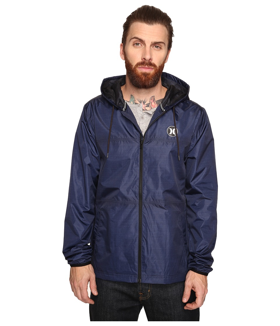Hurley - Blocked Runner 2.0 Jacket (Obsidian) Men's Coat