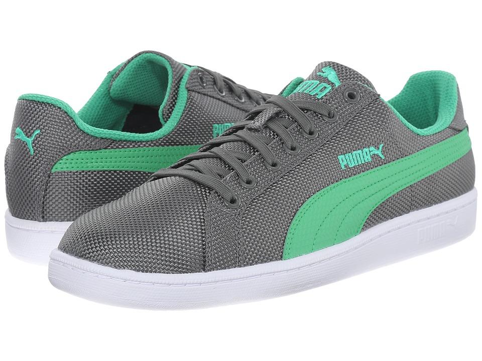 PUMA - Smash Ripstop (Gray) Men's Shoes