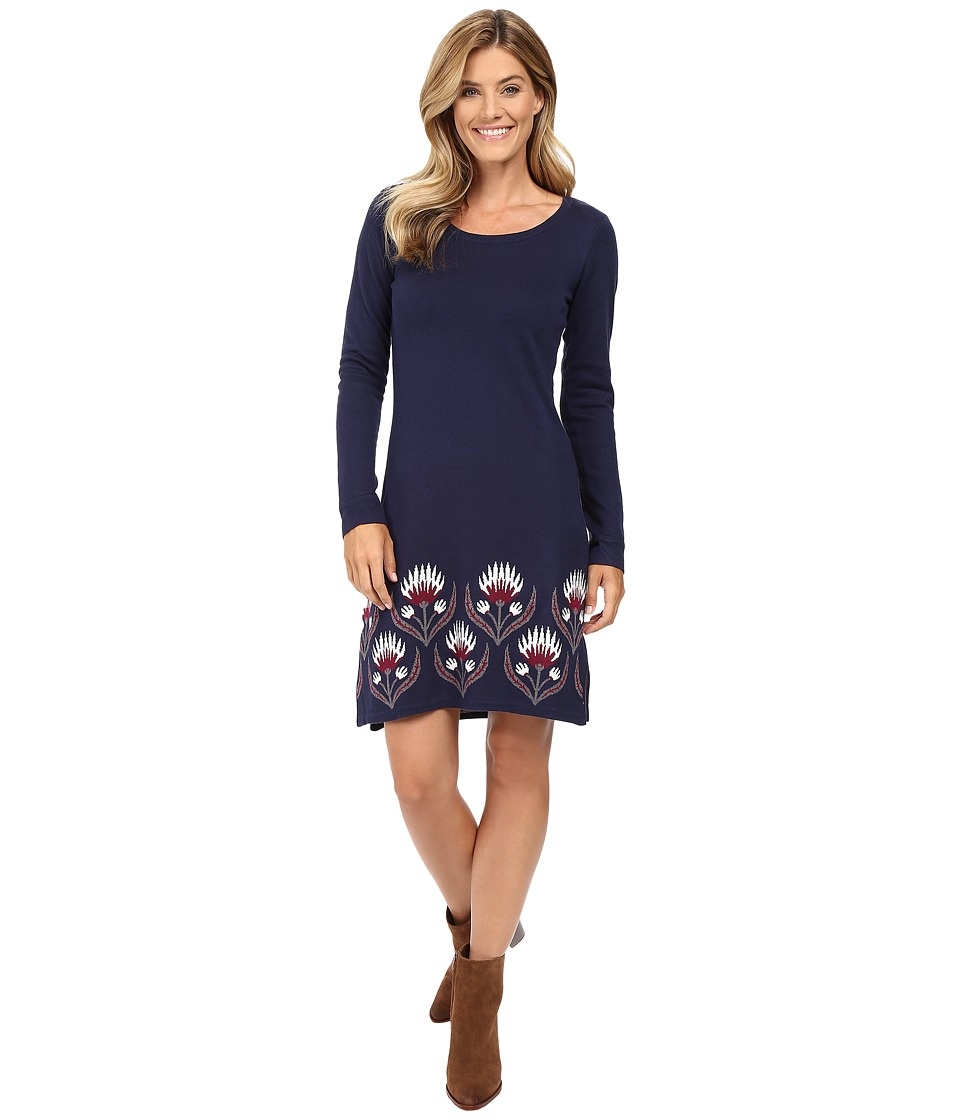Hatley - Sweater Dress (Floral Thistle) Women's Dress