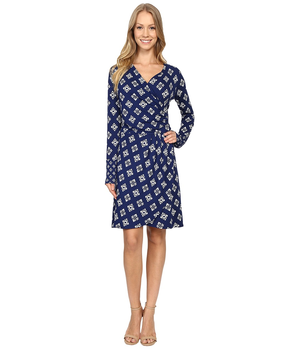 Hatley Faux Wrap Dress (Aztec) Women