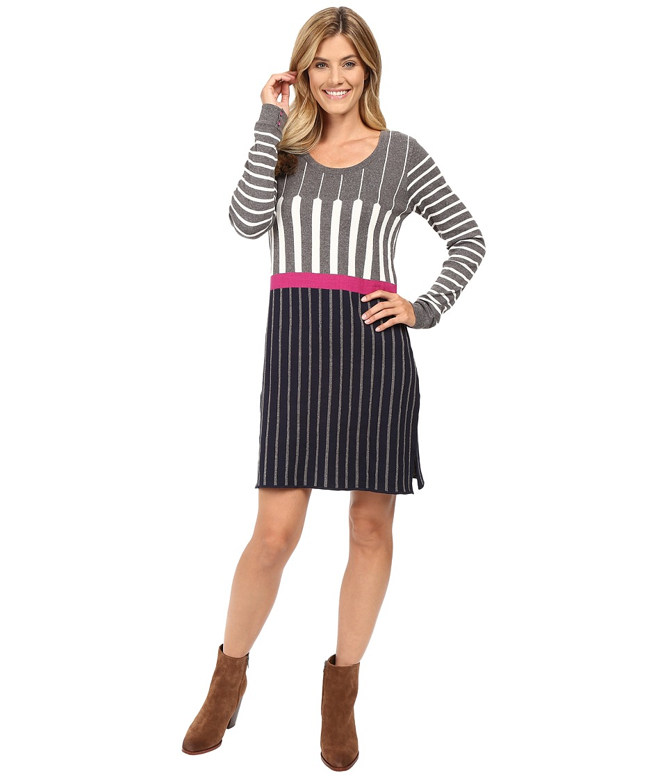 Hatley Sweater Dress (Optic Stripe) Women