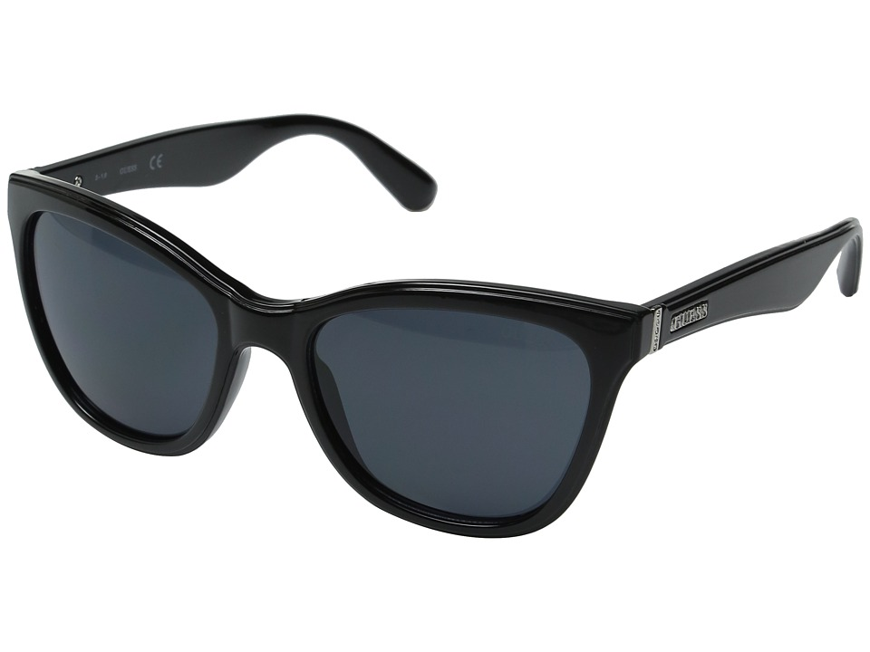 GUESS - GF0296 (Black/Smoke Lens) Fashion Sunglasses