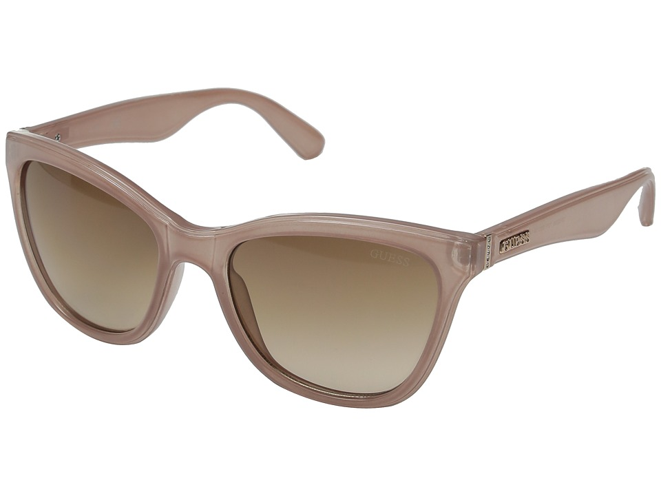 GUESS - GF0296 (Pink/Brown Gradient Lens) Fashion Sunglasses