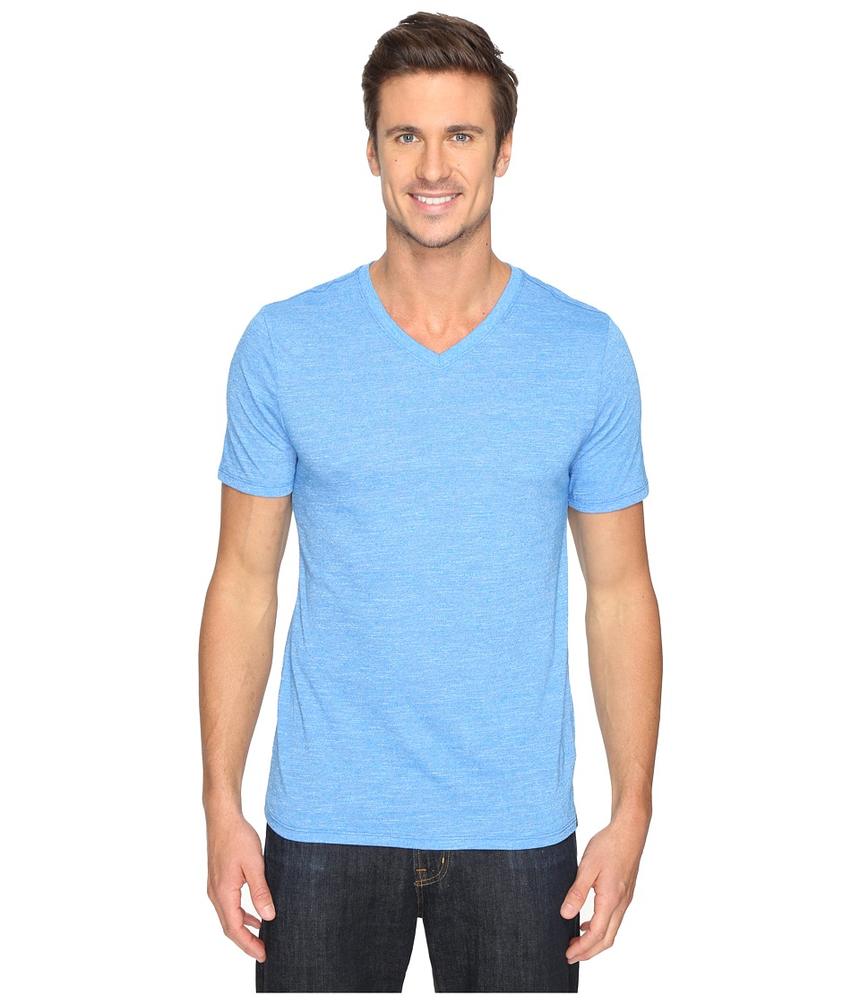 Hurley - Staple Tri-Blend V-Neck (Light Photo Blue) Men's T Shirt