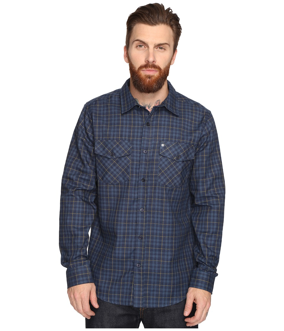 Hurley - Cascade Dri-Fit Flannel (Obsidian) Men's Clothing