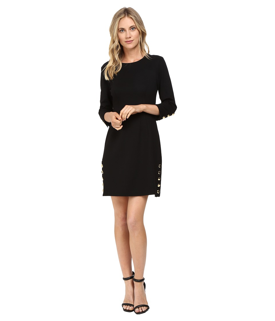 Trina Turk - Flush Dress (Black) Women's Dress