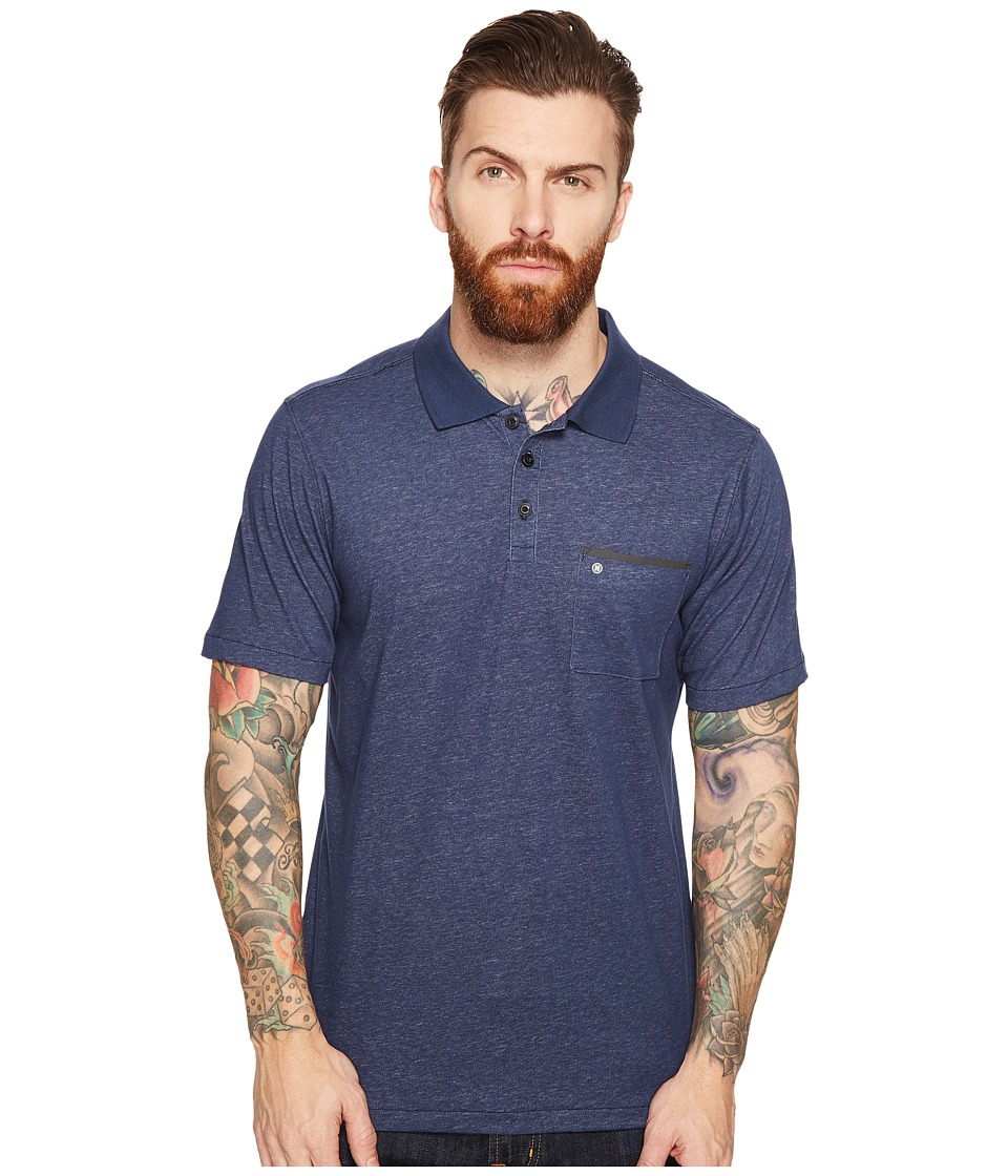 Hurley - Dri-Fit Lagos Polo (Obsidian) Men's Clothing