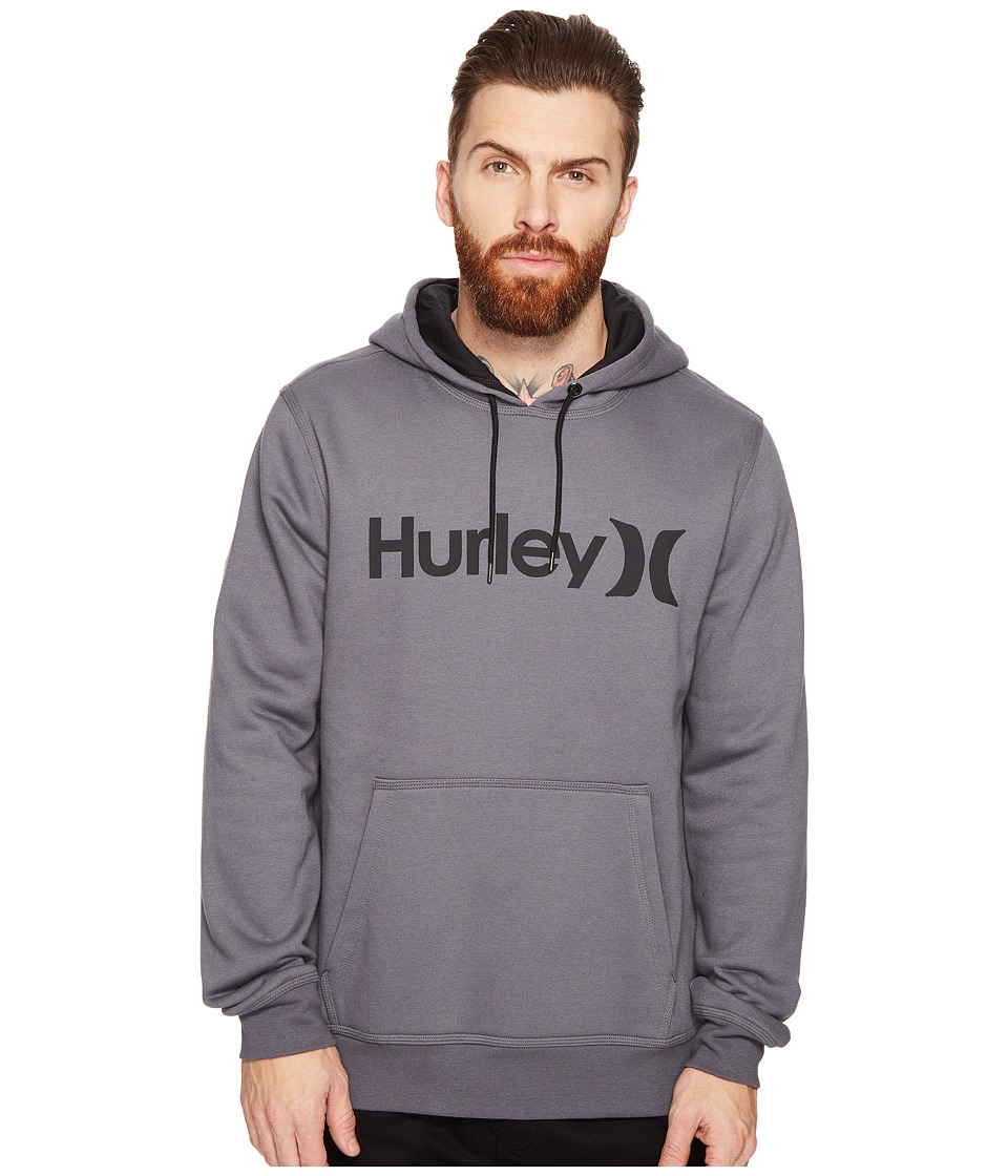 Hurley - Surf Club One Only Pullover (Dark Grey) Men's Clothing