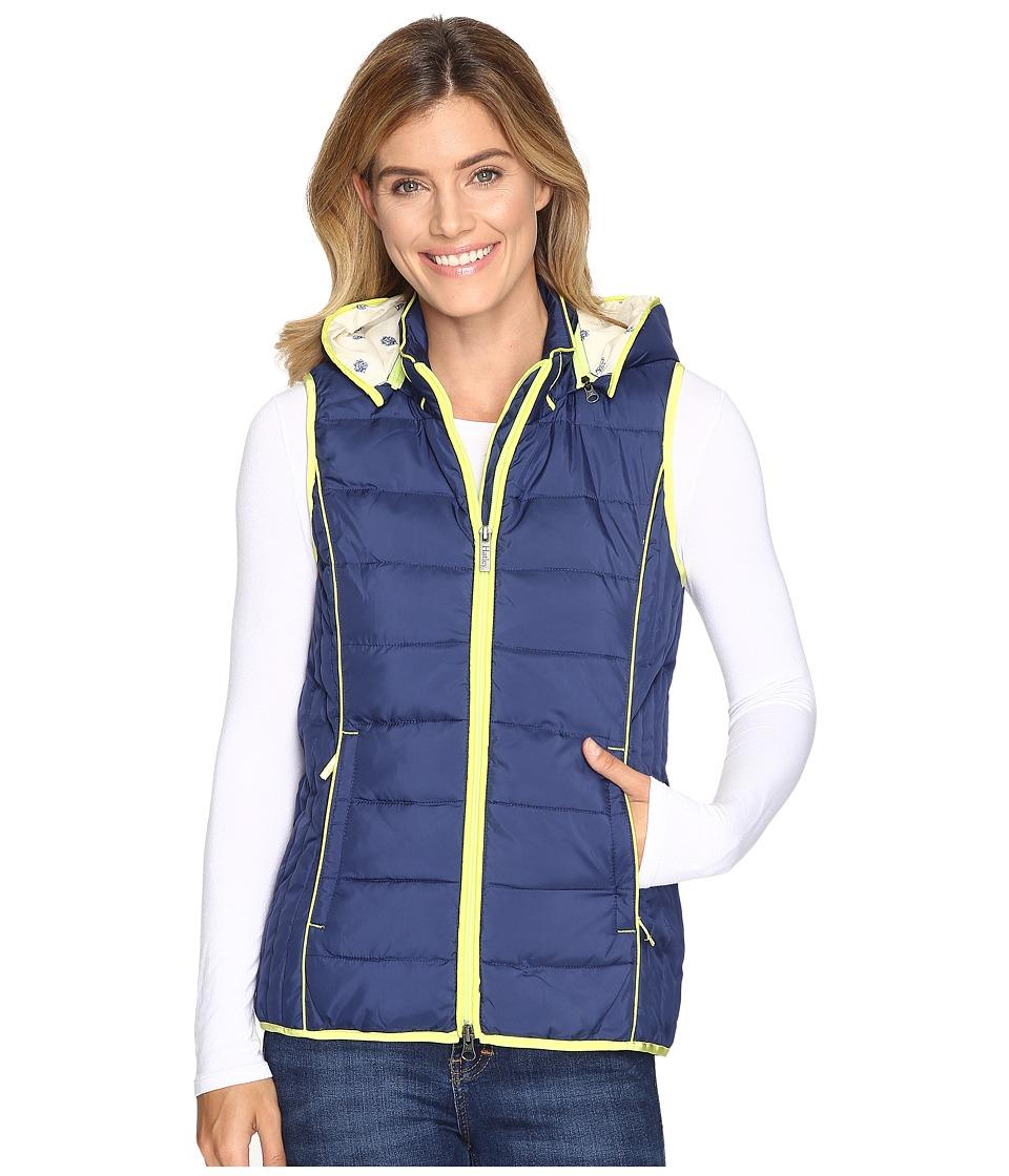 Hatley - Poly Fill Vest (Navy) Women's Vest